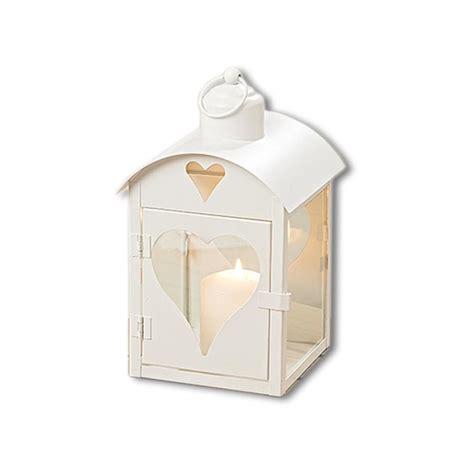 windlicht glas teelicht windlicht laterne aus metall creme mit glas herz fenster
