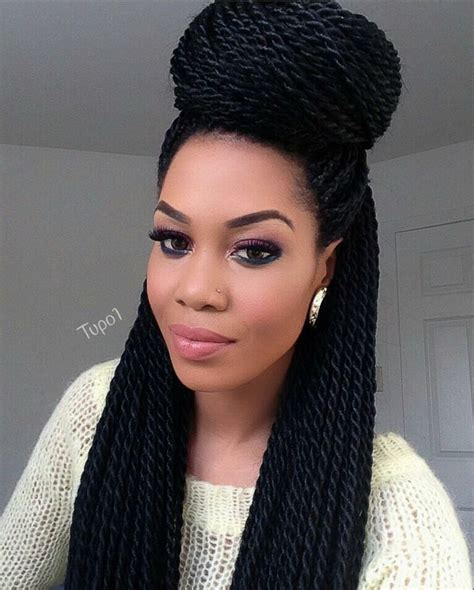 Twists Braids Hairstyles by 25 Best Ideas About Senegalese Twists On