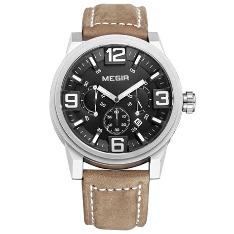 Megir Ms3006g Jam Tangan Analog megir jam tangan analog ml3010g brown black jakartanotebook
