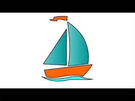 boat drawing for children s 121 how to draw boat for kids step by step drawing