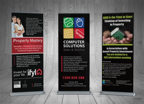 banner design good design and printing pullup banners gold coast and tweed heads
