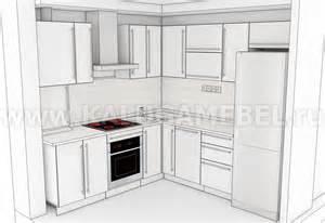 угловой кухонный гарнитур белый фото