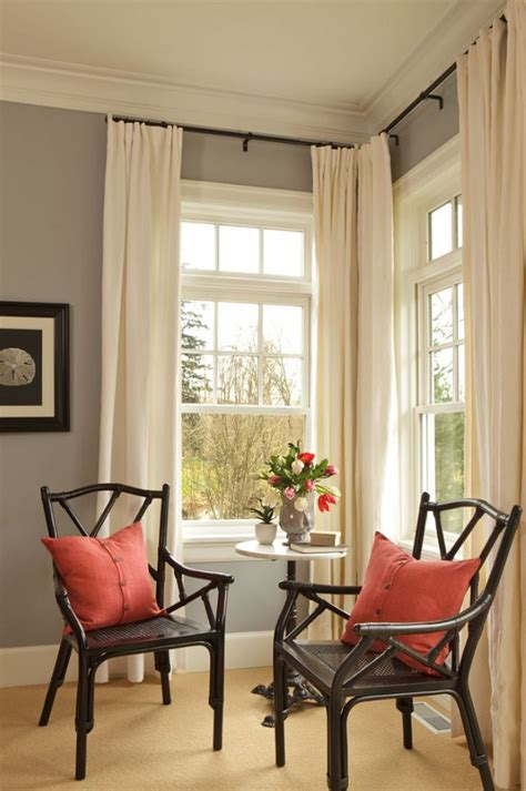 hang curtains higher than window 25 best ideas about corner curtains on pinterest corner