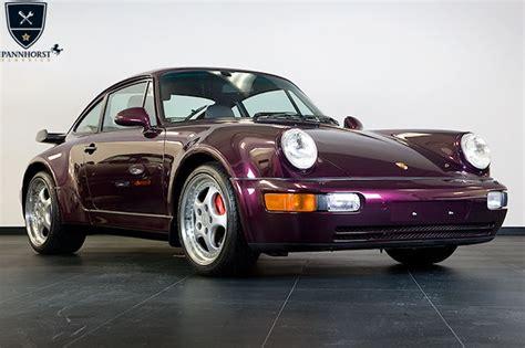 amethyst porsche porsche 911 964 turbo 3 6 amethyst metallic only