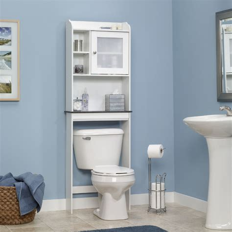 bathroom over the toilet cabinets sauder caraway 23 25 quot x 68 13 quot over the toilet cabinet