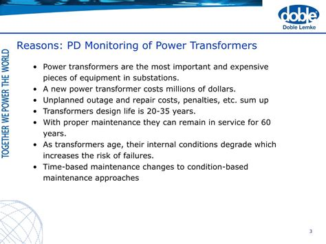 coupling capacitor voltage transformer failure ppt advanced pd monitoring of power transformers supporting asset management powerpoint