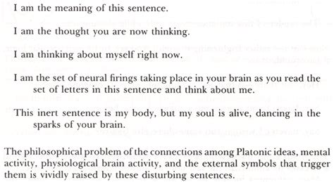 selves in a sentence self referential paradox intelligent degenerate
