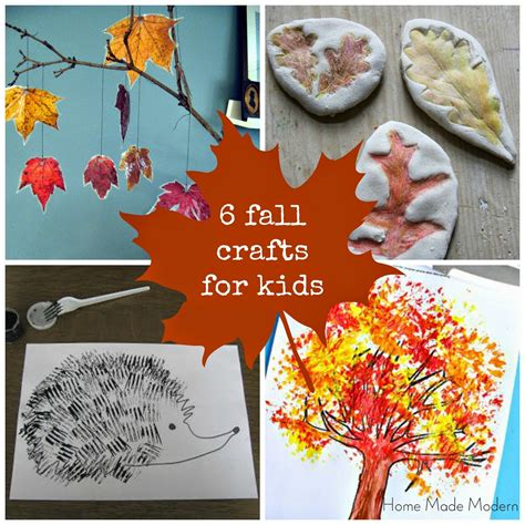 fall kid crafts home made modern craft of the week 6 fall crafts for