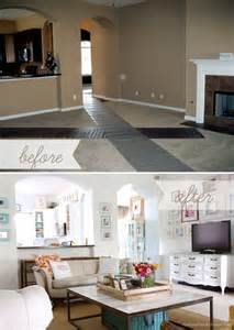 Home Decor Before And After by Living Room Before And After Home Decor Pinterest