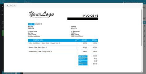 design invoice prestashop printout designer prestashop printout designer