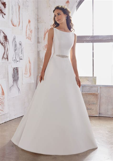 Brautkleid Einfach by Maxine Wedding Dress Style 5516 Morilee