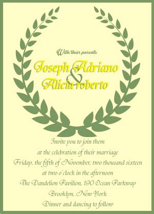 contoh invitation card wedding dan artinya 15 contoh wedding invitation letter surat undangan