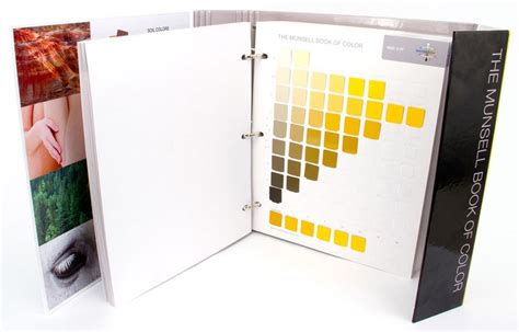 Munsell Color System Book