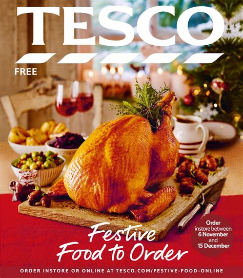 tesco festive food to order 2016 by tesco magazine issuu