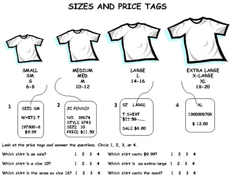 printable price tags for clothes clothing sizes and price tags