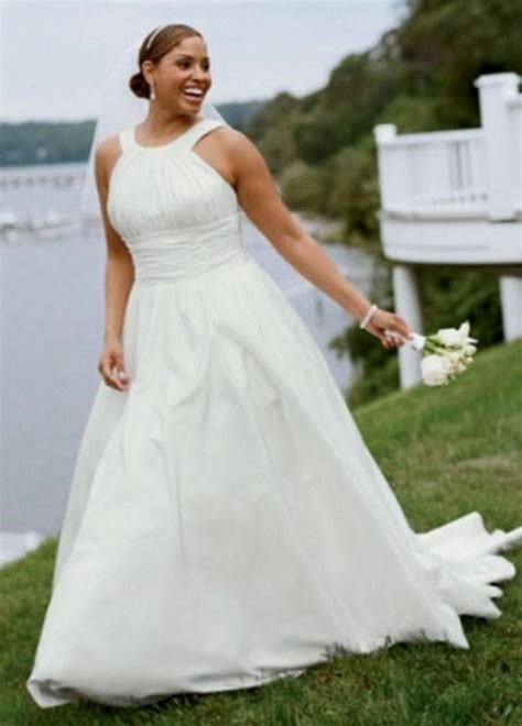 David bridal plus size wedding dresses   PlusLook.eu