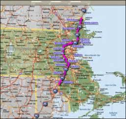 map eastern us route 95 interstate 95 karak