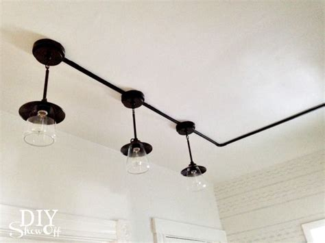industrial look track lighting industrial pantry lights with wall track a home is