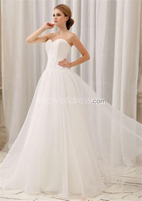 simple organza wedding dresses for simple but very elegant