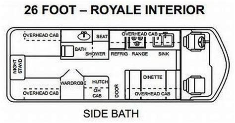 gmc motorhome floor plans pinterest the world s catalog of ideas