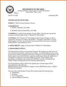 army memorandum for record template 9 memorandum for record army marital settlements