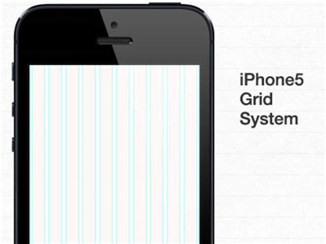 iphone layout grid iphone 5 grid system free psd