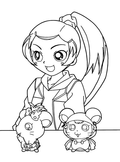 hamtaro coloring pages online coloring page hamtaro coloring pages 25
