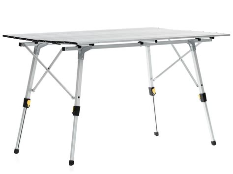aluminum portable folding table skandika aluminum folding cing table portable sturdy