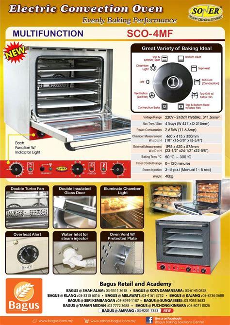 Oven Soner Soner Electric Convention Oven Sco 4mf Oven Appliances