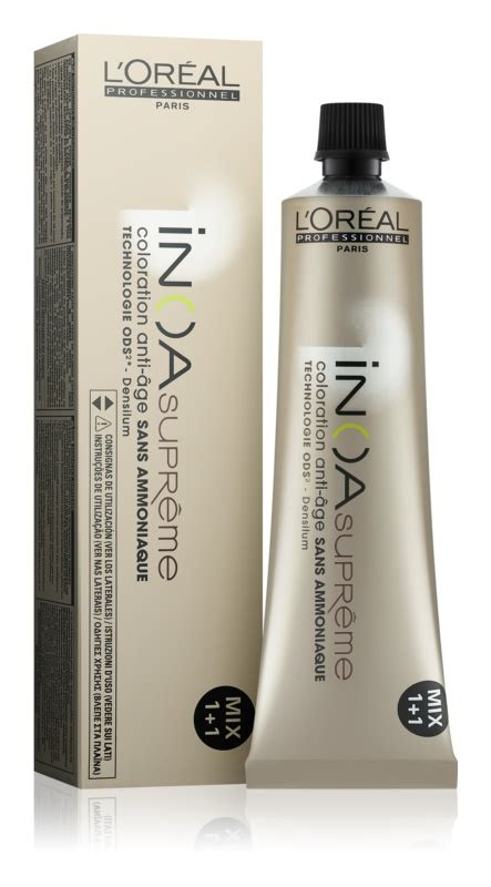 loreal supreme l or 233 al professionnel inoa supreme hair color ammonia