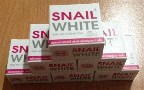 Snail White Original Thailand 5 Gram 1 snail white whitening soap 75g thailand best selling products shopping worldwide