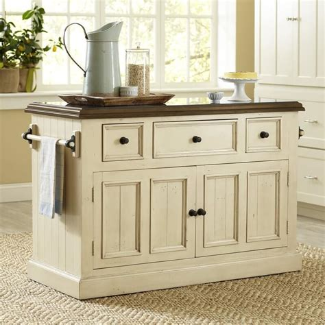 distressed white kitchen island kitchen islands insteading
