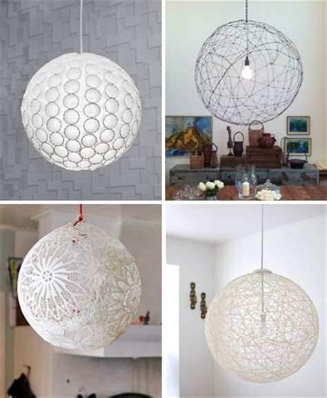 Diy Pendant Light Shade Diy Pendant Light Tutorials How About Orange