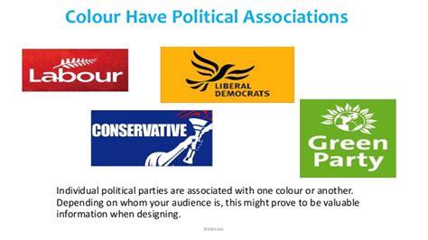 political colors how color affect communication