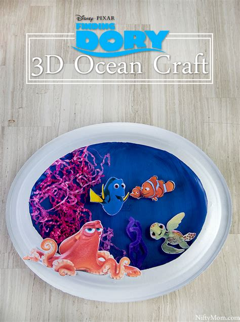 Finding Dory Paper Plate Painting Craft Nemo