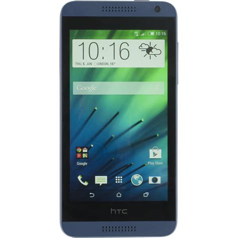 blue android htc desire 610 8mp 8gb 4g lte band unlocked gsm blue android phone condition