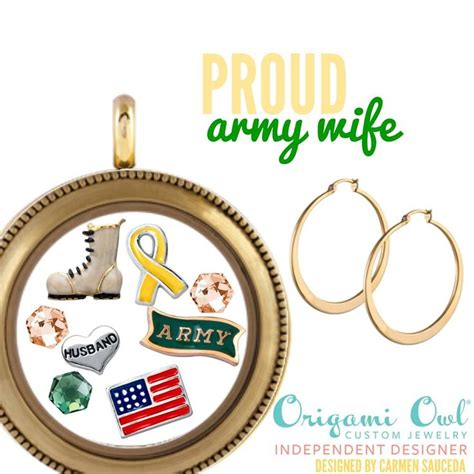 origami owl army charm 56 best images about origami owl inspiration on