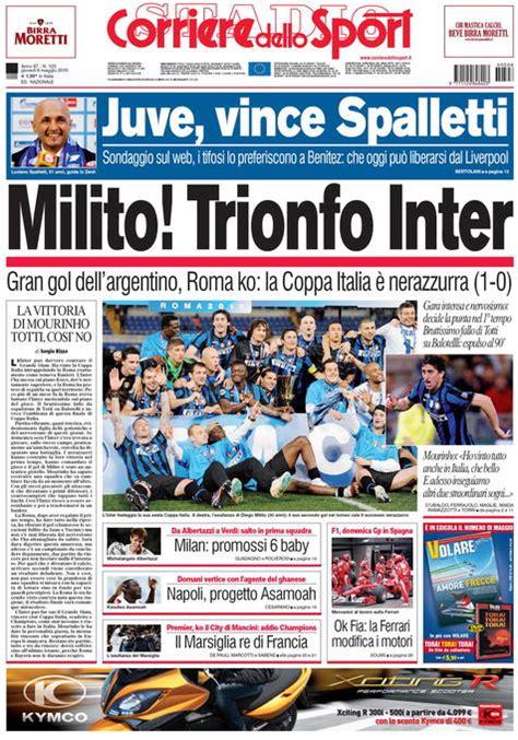 corriere dellos corriere dello sport 6 maggio 2010 funize