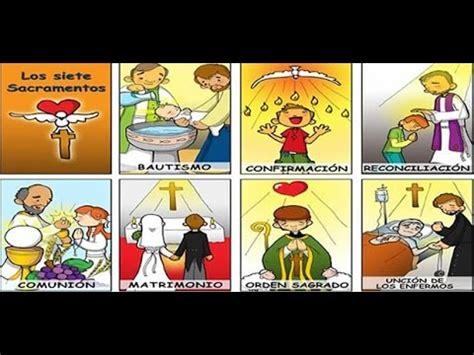 dibujos de los 7 sacramentos canci 211 n de los 7 sacramentos youtube
