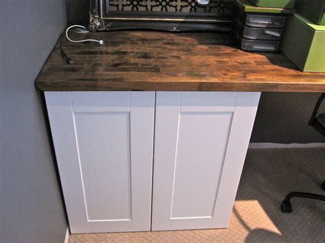 ikea desk base cabinets love lee homemaker basement re do built in desk