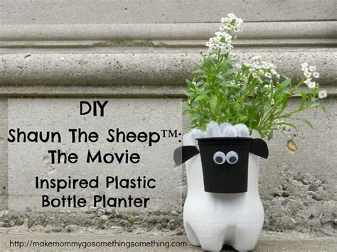 Diy Plastic Planter by Diy Shaun The Sheep Inspired Plastic Bottle Planter
