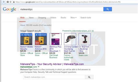 Visual Search Remove Quot Visual Search Results Quot Virus Removal Guide