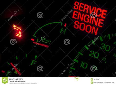 service engine soon light royalty free stock image image