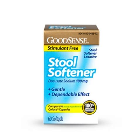Is It Safe To Take A Stool Softener Every Day by Goodsense Stool Softener Softgels Goodsense
