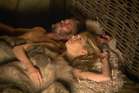 ragnar lothbrok wives vikings history channel 2013 travis fimmel katheryn