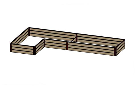 raised bed brackets 18 quot tall 8x16 kit with wood raised bed brackets raised