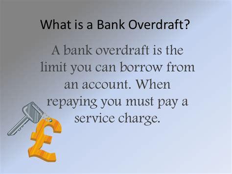 bank overdraft bank overdraft