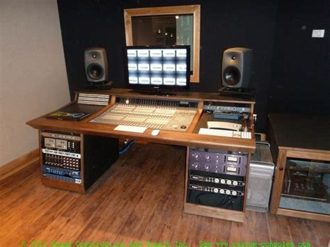 Recording Studio Furniture Gallery Custom Mixing Desks By Diy Mixing Desk