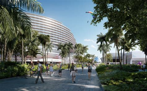home design miami convention center arquitectonica takes miami convention center from oma archdaily
