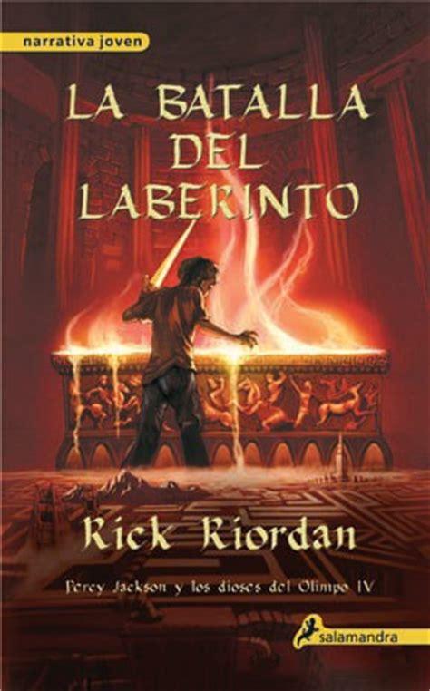la batalla del laberinto viviendo entre libros rese 241 a percy jackson y la batalla del laberinto de rick riordan